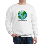 Peace Peas on Earth Christmas Sweatshirt