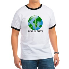 Peace Peas on Earth Christmas T