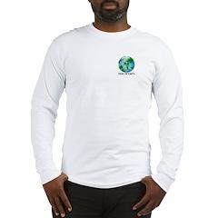 Peace Peas on Earth Christmas Long Sleeve T-Shirt
