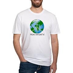Peace Peas on Earth Christmas Shirt