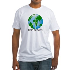 Peace Peas on Earth Christmas Shirt
