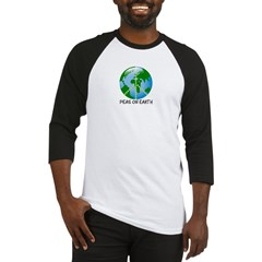 Peace Peas on Earth Christmas Baseball Jersey