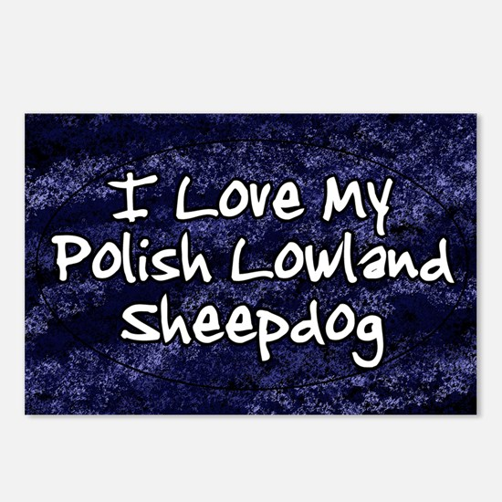 polish_funklove_oval Postcards (Package of 8)