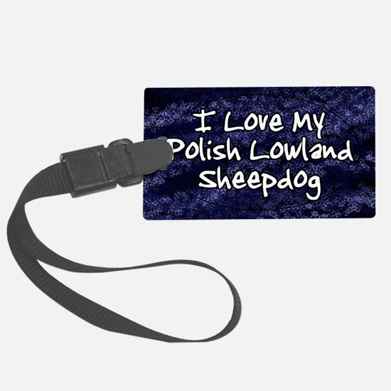 polish_funklove_oval Luggage Tag