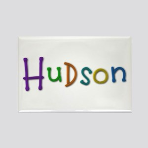 Hudson Play Clay Rectangle Magnet