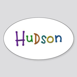 Hudson Play Clay Oval Sticker
