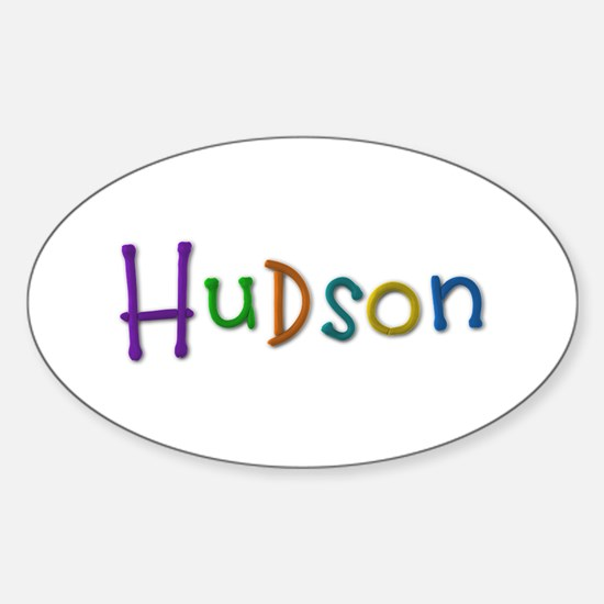 Hudson Play Clay Oval Decal