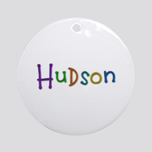 Hudson Play Clay Round Ornament