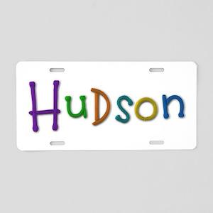 Hudson Play Clay Aluminum License Plate
