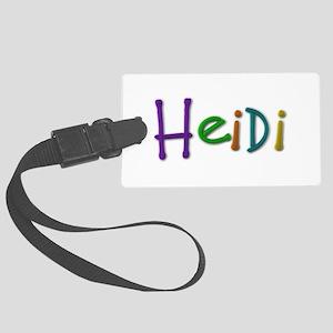 Heidi Play Clay Large Luggage Tag