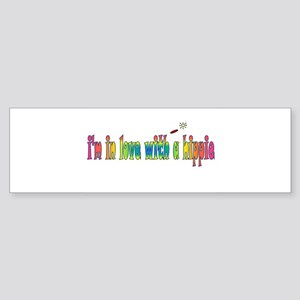 I'm in love with a Hippie Bumper Sticker