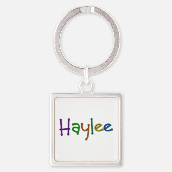 Haylee Play Clay Square Keychain