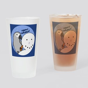 snowman_congo Drinking Glass
