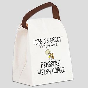 pembroke_lifeisgreat Canvas Lunch Bag
