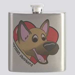 heartgermanshep Flask
