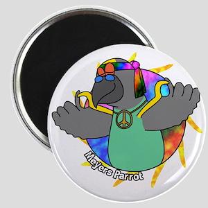 hippie_meyers_blk Magnet