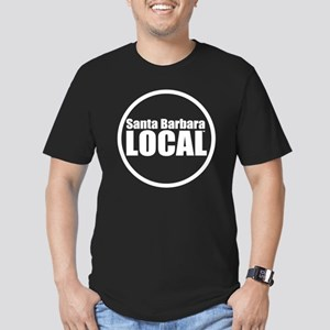 Santa Barbara Local™ L Men's Fitted T-Shirt (dark)