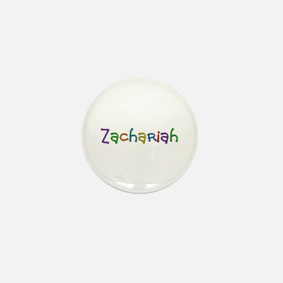 Zachariah Play Clay Mini Button
