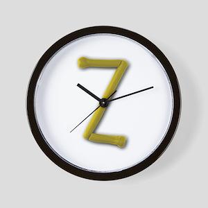 Z Play Clay Wall Clock