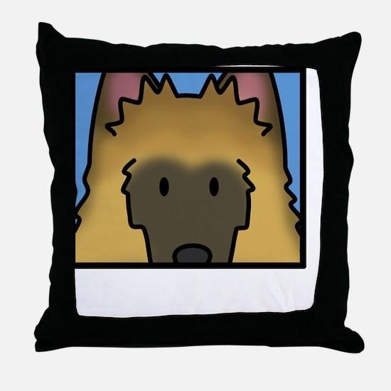 anime_belgiantervuren_blk Throw Pillow