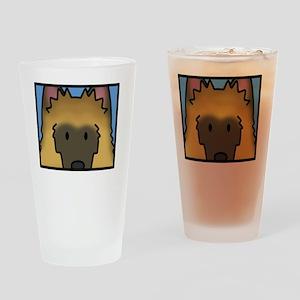 anime_belgiantervuren_blk Drinking Glass