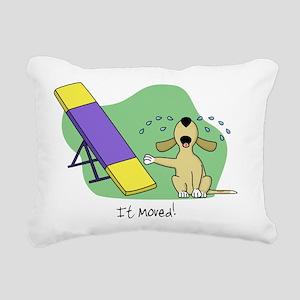cryingteeter Rectangular Canvas Pillow