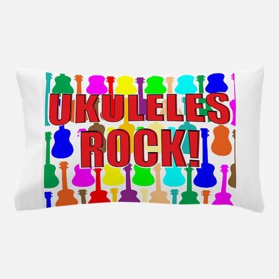 Original 2012 Red Uke Pillow Case