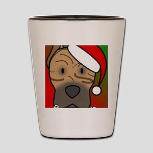 anime_canarydog_ornament Shot Glass