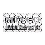 Mixed Martial Arts Beach Towel