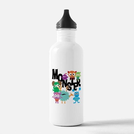Monsters Water Bottle