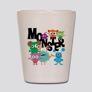 Monsters Shot Glass