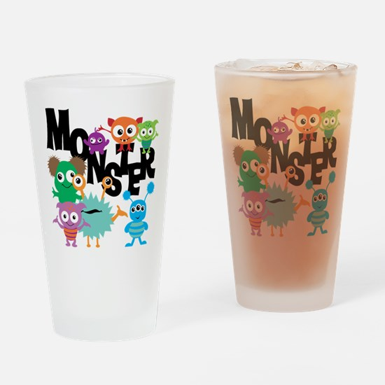 Monsters Drinking Glass