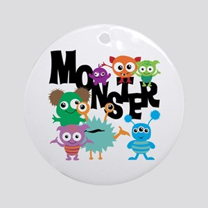 Monsters Ornament (Round)