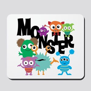 Monsters Mousepad