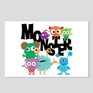 Monsters Postcards (Package of 8)
