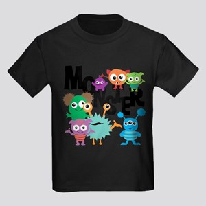 Monsters Kids Dark T-Shirt