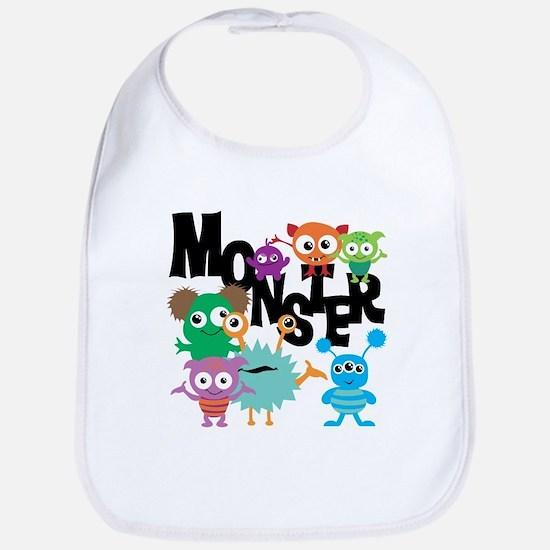 Monsters Bib