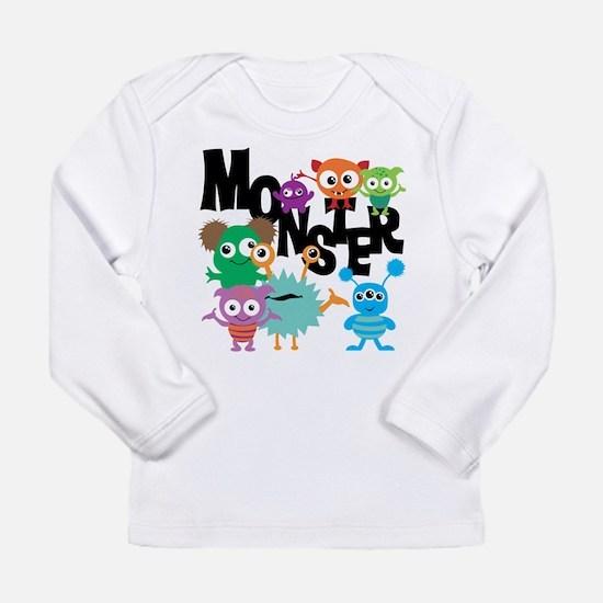 Monsters Long Sleeve Infant T-Shirt