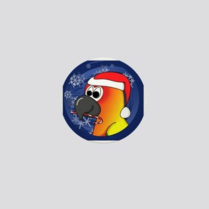 candycane_sunconure_ornament Mini Button