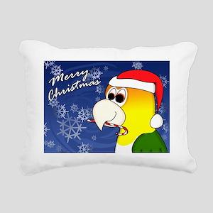 candycane_wbcaique_card Rectangular Canvas Pillow