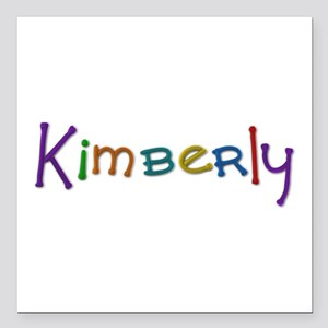 Kimberly Play Clay Square Car Magnet