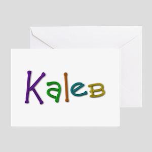 Kaleb Play Clay Greeting Card