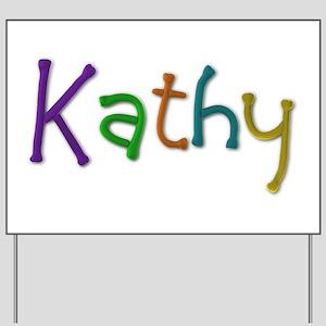 Kathy Play Clay Yard Sign