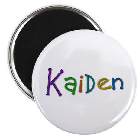 Kaiden Play Clay Round Magnet