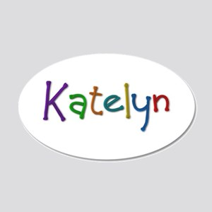Katelyn Play Clay 20x12 Oval Wall Decal