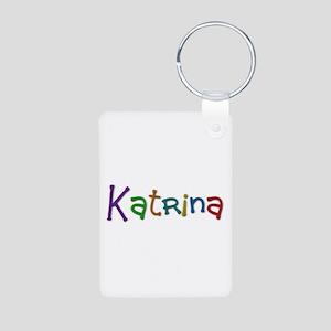 Katrina Play Clay Aluminum Keychain