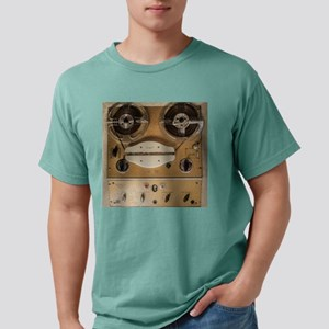 Vintage tape sound recor Mens Comfort Colors Shirt