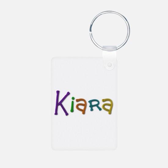 Kiara Play Clay Aluminum Keychain