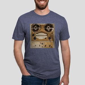 Vintage tape sound recorder Mens Tri-blend T-Shirt
