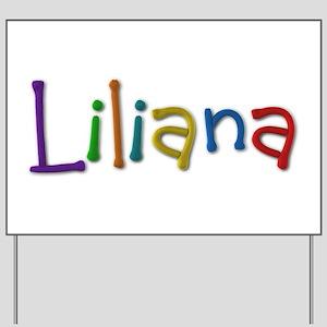 Liliana Play Clay Yard Sign